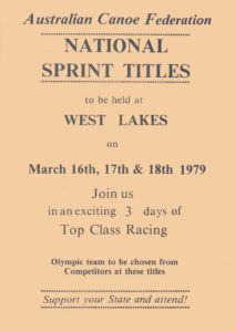National Sprint Titles West lakes 1979