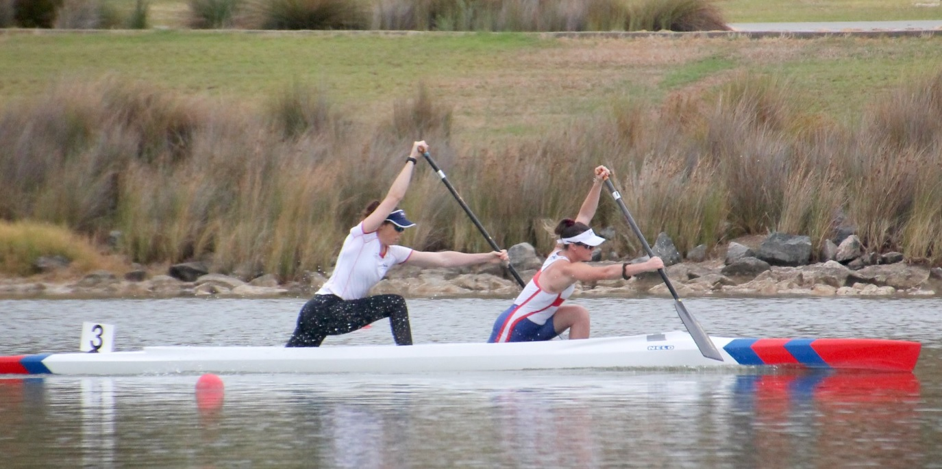 West Lakes Canoe Club sprint C2