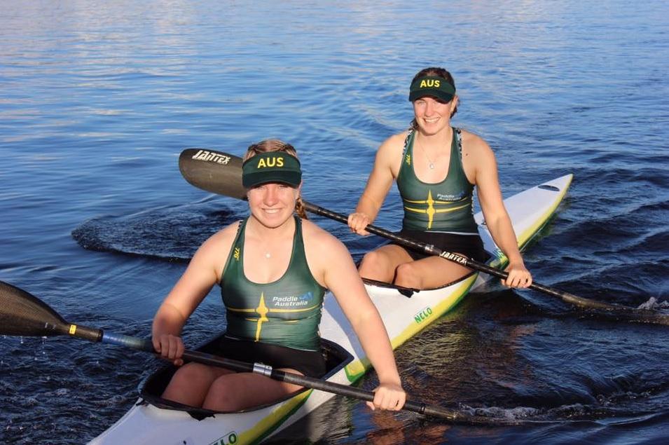 West Lakes Canoe Club sprint K2